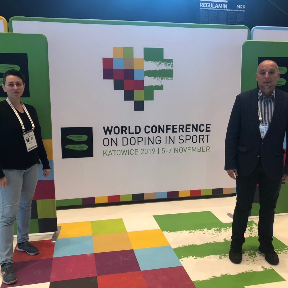 SportREcognized Association attended WADA Conference 2019 in Katowice, Poland.